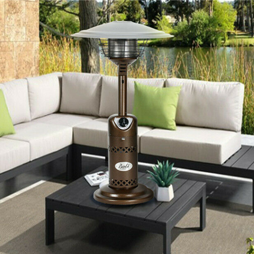Portable Outdoor Tabletop Patio Propane Heater | Zincera
