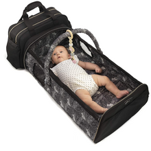 Load image into Gallery viewer, Portable Baby Travel Folding Sleeper Bassinet | Zincera