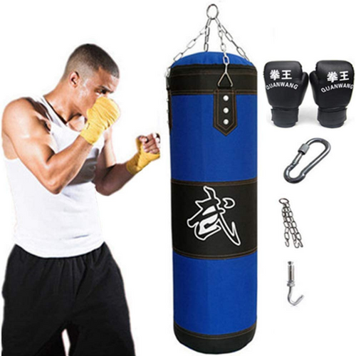 Heavy Hanging Boxing Training Punch Bag | Zincera