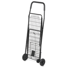 Load image into Gallery viewer, Portable Folding Personal Grocery Shopping Cart With Wheels | Zincera