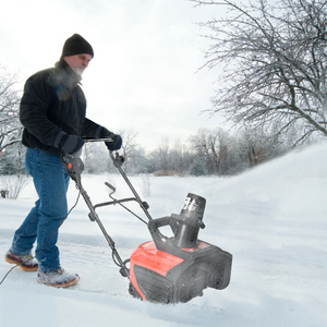 Heavy Duty Small Electric Snow Blower 15 Amp | Zincera