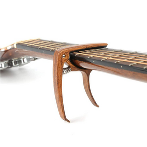 Premium Electric And Acoustic Guitar Capo Clamp | Zincera