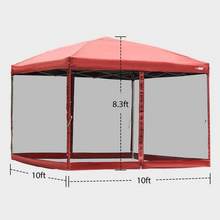 Load image into Gallery viewer, Large Pop Up Screen House Room Tent | Zincera