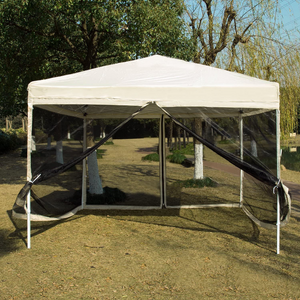 Large Pop Up Screen House Room Tent | Zincera