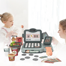 Load image into Gallery viewer, Smart Kids Cash Register Play Toy With Scanner | Zincera