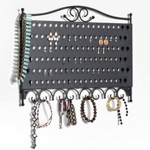 Load image into Gallery viewer, Premium Wall Mounted Jewelry Organizer Storage | Zincera
