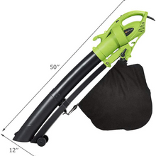 Load image into Gallery viewer, Portable Yard Leaf Blower Vacuum Mulcher 7.5 AMP | Zincera