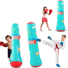 Load image into Gallery viewer, Premium Inflatable Free Standing Punching Bag 62 in | Zincera