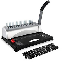 Load image into Gallery viewer, Premium Book Spiral Comb Binding Machine 21 Hole | Zincera