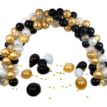 Load image into Gallery viewer, Gold Balloon Arch Garland Stand Kit 120pcs | Zincera