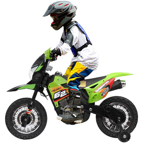 Kids 6V Battery Powered Electric Riding Mini Dirt Bike | Zincera