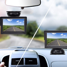 Load image into Gallery viewer, Car Rear View License Plate Backup Camera Kit With Monitor