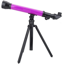 Load image into Gallery viewer, Portable Kids Beginner Refracting Starter Telescope