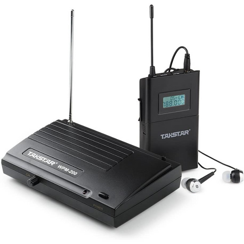 Wireless In Ear Monitor System 30 Hz - 18 KHz