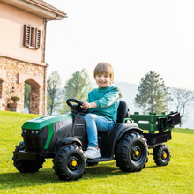 Load image into Gallery viewer, Premium Kids Electric Ride On Tractor Toy 12V