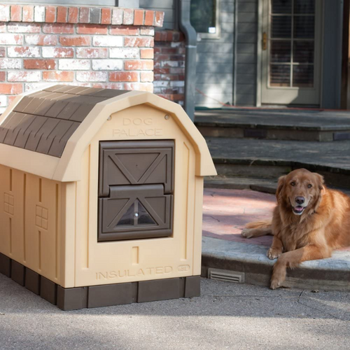 Large Heated Outdoor Insulated Dog House