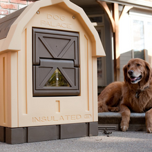 Load image into Gallery viewer, Large Heated Outdoor Insulated Dog House