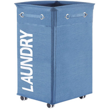 Load image into Gallery viewer, Roller Laundry Hamper Basket Cart With Wheels