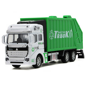 Realistic Kids Garbage Recycling Truck Toy
