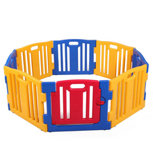 Load image into Gallery viewer, Portable Folding 8 Panel Kids Playpen / Play Yard