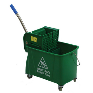 Large Commercial/Home Mop Bucket With Wringer 24 Qt