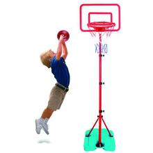 Load image into Gallery viewer, Portable Kids Adjustable Indoor Basketball Hoop