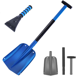 Heavy Duty Ergonomic Snow Plow Shovel