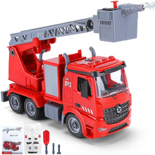 Load image into Gallery viewer, Realistic Kids DIY Fire Engine Truck Toy