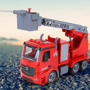 Realistic Kids DIY Fire Engine Truck Toy