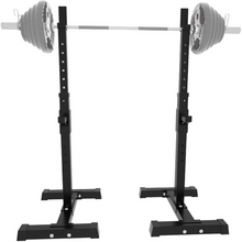 Load image into Gallery viewer, Portable Home Gym Adjustable Half Squat Rack Stand