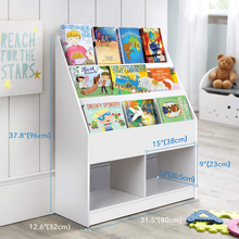 Load image into Gallery viewer, Spacious Kids Nursery Room Bookshelf