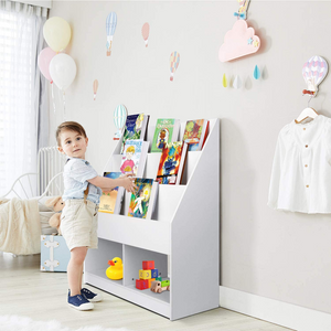Spacious Kids Nursery Room Bookshelf