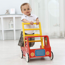 Load image into Gallery viewer, Premium Wooden Baby Push Walker Toy