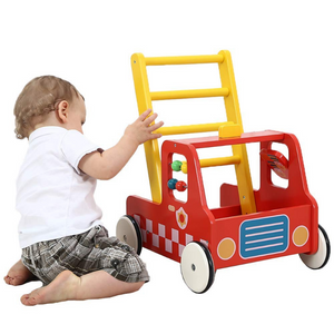 Premium Wooden Baby Push Walker Toy