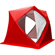 Load image into Gallery viewer, Large Portable Pop Up Ice Fishing Shelter Tent