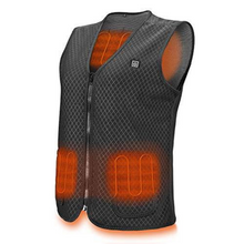 Load image into Gallery viewer, Premium Electric Rechargeable Battery Heated Men's Vest