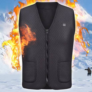 Premium Electric Rechargeable Battery Heated Men's Vest