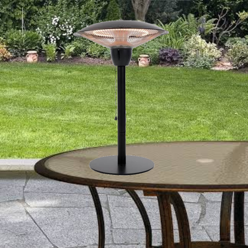 Portable Electric Tabletop Outdoor Patio Heater Lamp