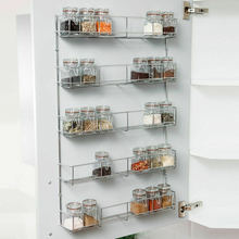 Load image into Gallery viewer, Wall Mounted Kitchen Spice Organizer Hanging Rack