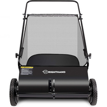 Load image into Gallery viewer, Premium Push Lawn / Yard Sweeper 26 in
