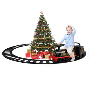 Kids Electric Ride On Toy Train With Track