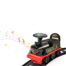Load image into Gallery viewer, Kids Electric Ride On Toy Train With Track
