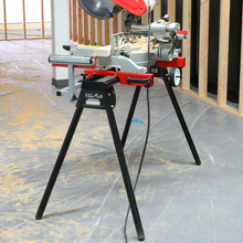 Load image into Gallery viewer, Universal Heavy Duty Rolling Miter Saw Stand With Wheels