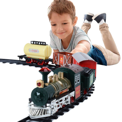 Ultimate Battery Operated Kids Electric Train Set