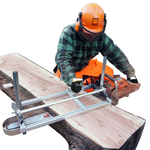 Portable Heavy Duty Mobile Chainsaw Sawmill 36