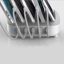 Load image into Gallery viewer, Premium Multi Device Cell Phone USB Charging Dock Station