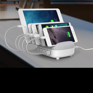 Premium Multi Device Cell Phone USB Charging Dock Station