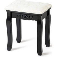 Load image into Gallery viewer, Premium Makeup Vanity Cushioned Stool