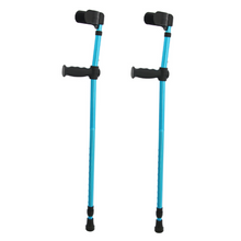 Load image into Gallery viewer, Lightweight Ergonomic Adjustable Forearm Crutches