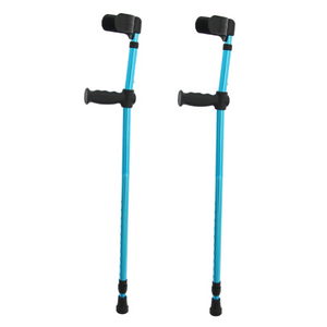 Lightweight Ergonomic Adjustable Forearm Crutches